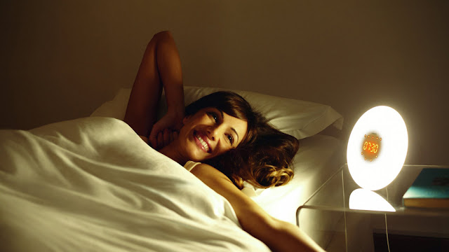 Wake up Light in Action