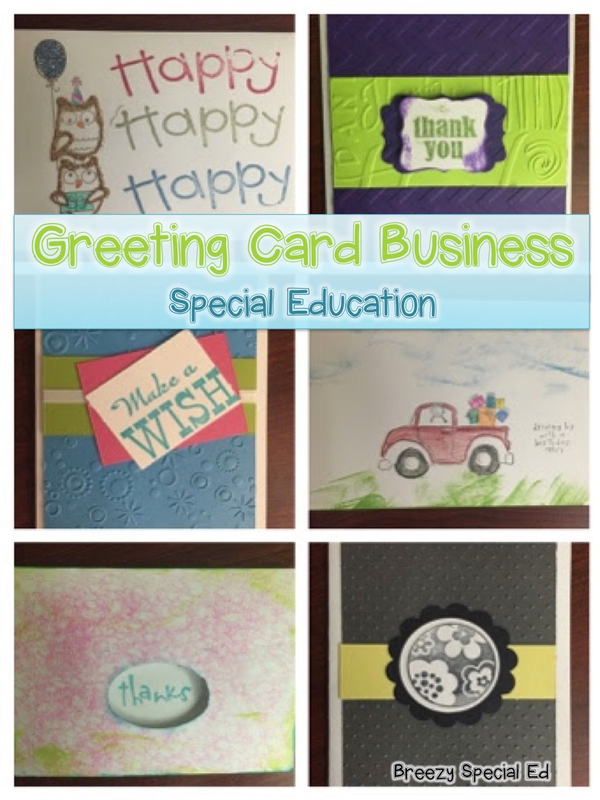 Student Greeting Card Business For Students With Special Needs