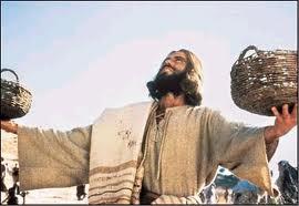 Yesus mengucap syukur atas makanan