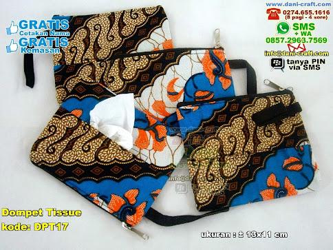 Dompet Tissue Kain Batik