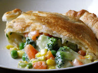 Creamy Vegetable Pot Pie