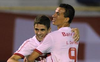 Barcelona pone sus ojos en Óscar y Leandro Damiao