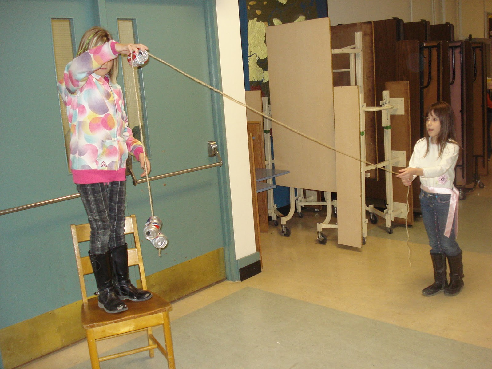 Rope And Pulley Elevator : What i learned today at elm street school a pulley system