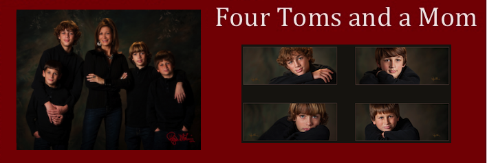 Four Toms and a Mom