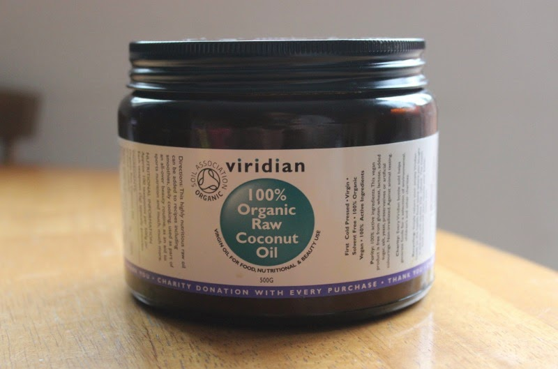Going over my top uses for Viridian 100% Organic Raw Coconut Oil
