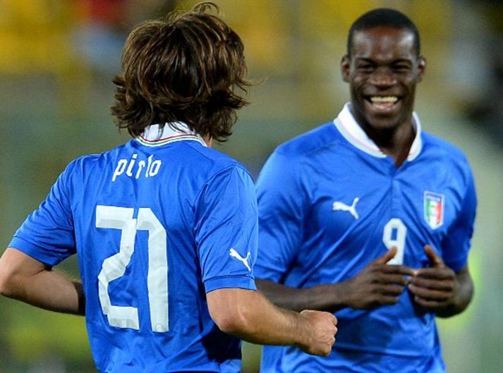 Pirlo yakin Balotelli bangkit dari keterpurukan
