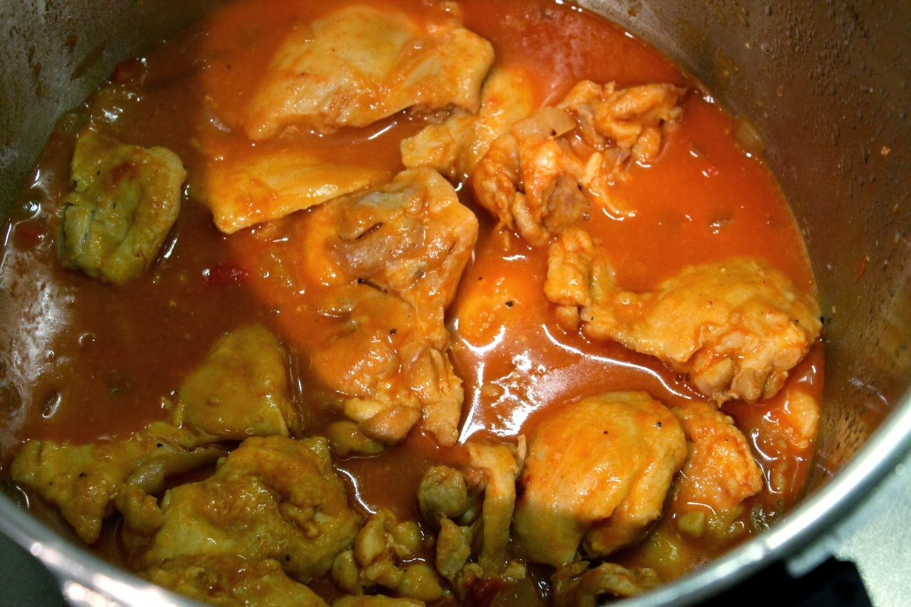 Cook In / Dine Out: Pressure Cooker Chicken Paprikash
