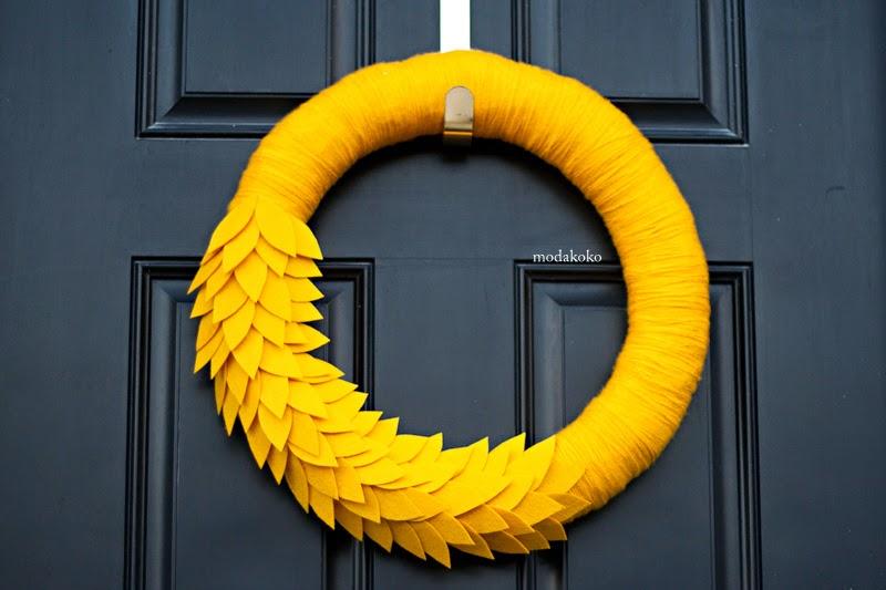 Keçeden Kapı Süsü Yapımı