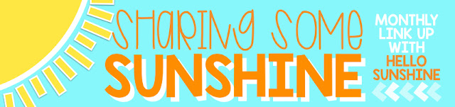 Share some sunshine with Hello Sunshine Teachers every month on the 15th!