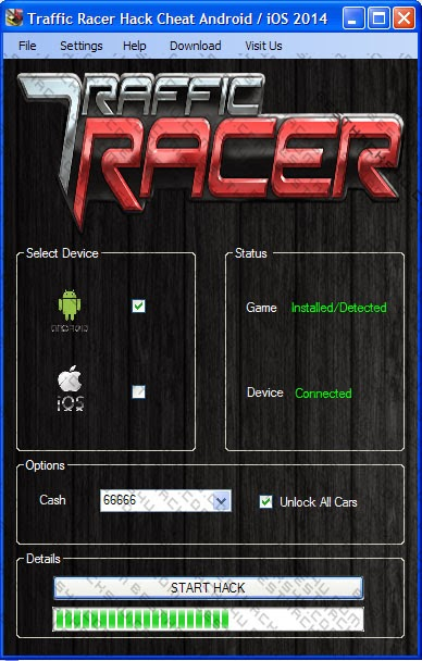 traffic rider hack game download for android