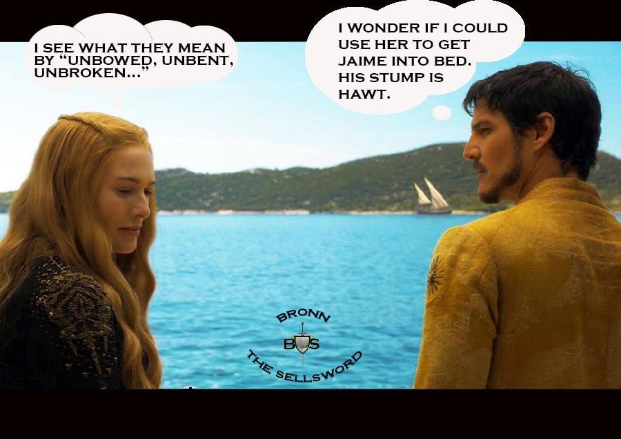 #GameOfThrones Why Are You So Gay Prince Obreyn? :( meme