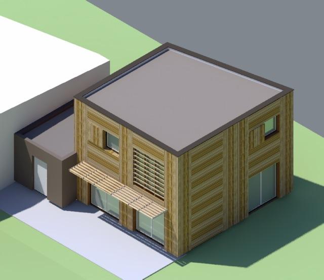 construction dune maison type t3 en ossature et bardage bois rpondant aux exigence bbc et au cahier des charges de lcoquartier camp countal - Cahier Des Charges Construction Maison
