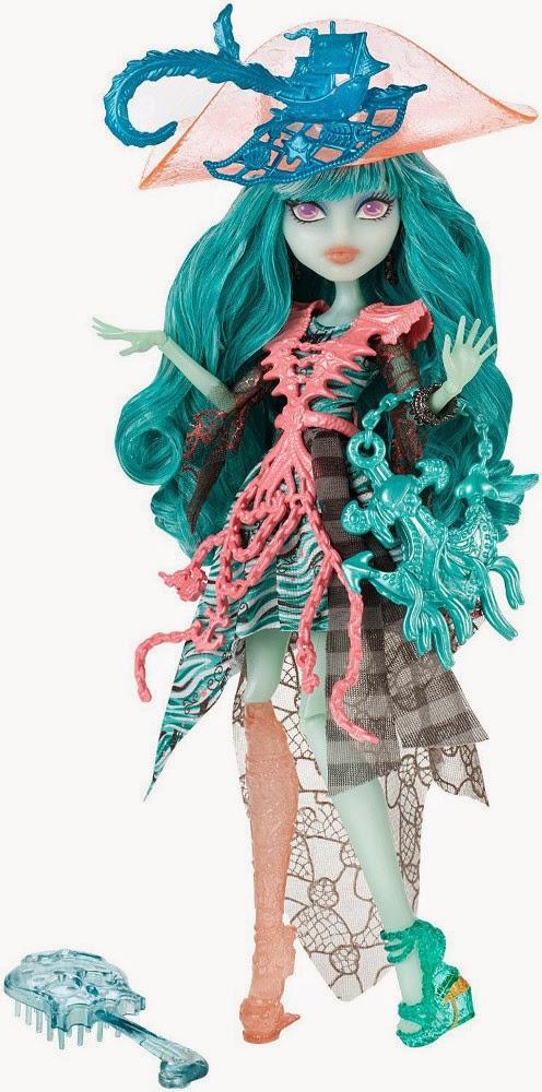 JUGUETES - MONSTER HIGH : Haunted | Embrujadas  Vandala Doubloons : Student Spirits | Muñeca  Producto Oficial | Mattel | A partir de 6 años