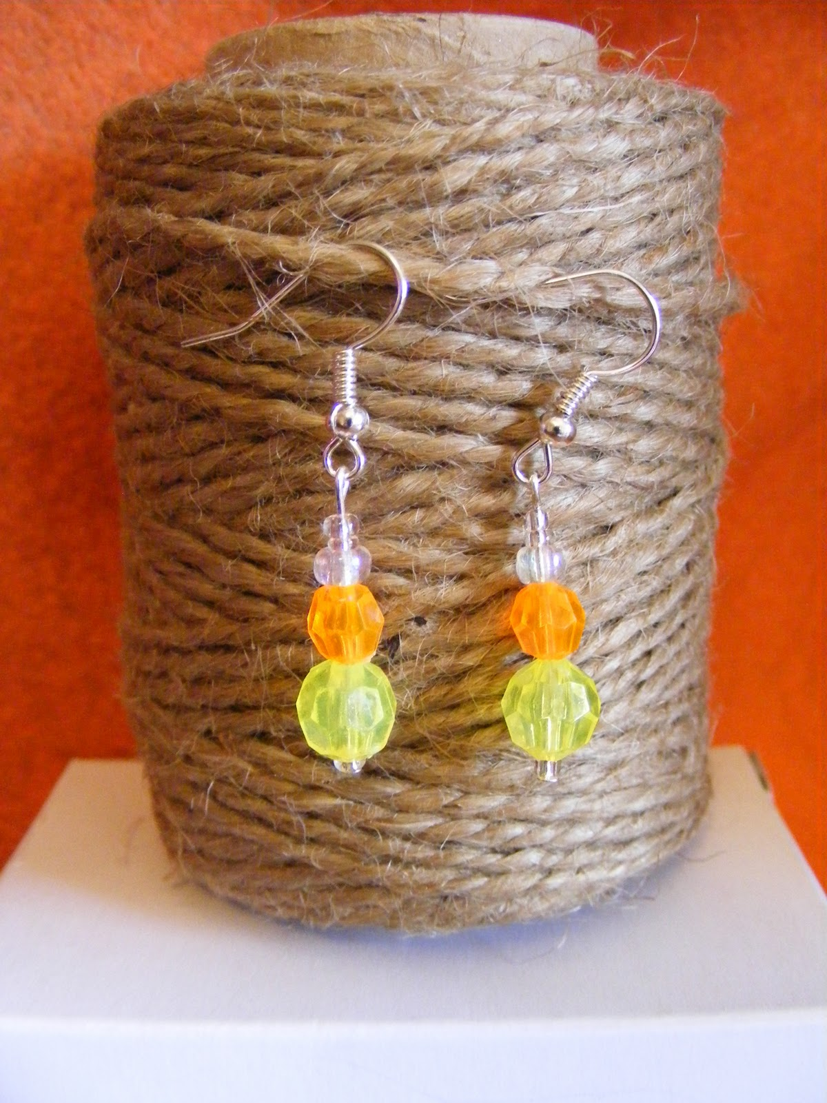 Bacon Time With The Hungry Hypo: Diy Pumpkin And Candy Corn Earrings