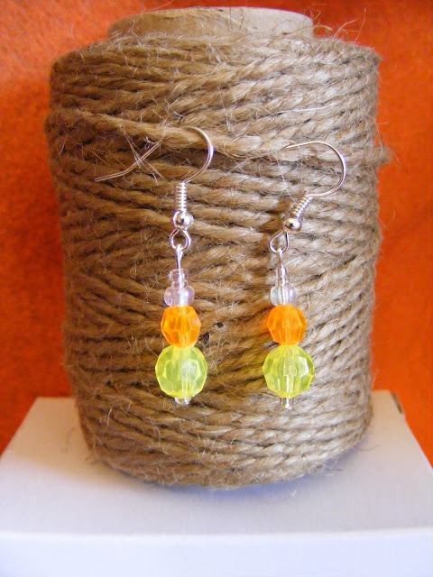 crafty jewelry: halloween and fall inspired earrings
