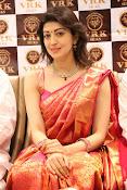 Pranitha glamorous photos at VRK Silks-thumbnail-13