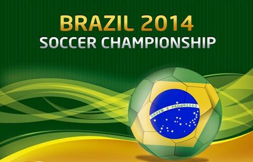 Brazil 2014 Soccer Championship Background
