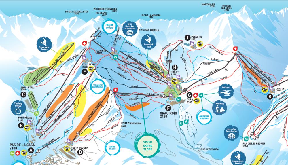 World ski resort pas de la casa - Webcams pas de la casa ...