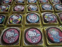 Chocolate Oreo Edible Image Hello Kitty