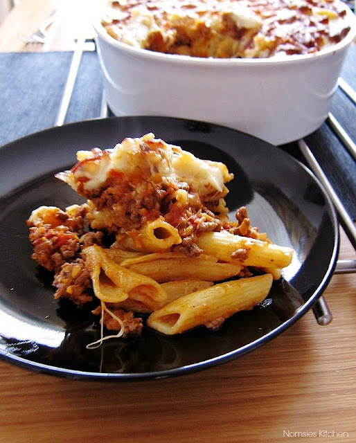 Greek Pastitsio Recipe from Nomsies Kitchen