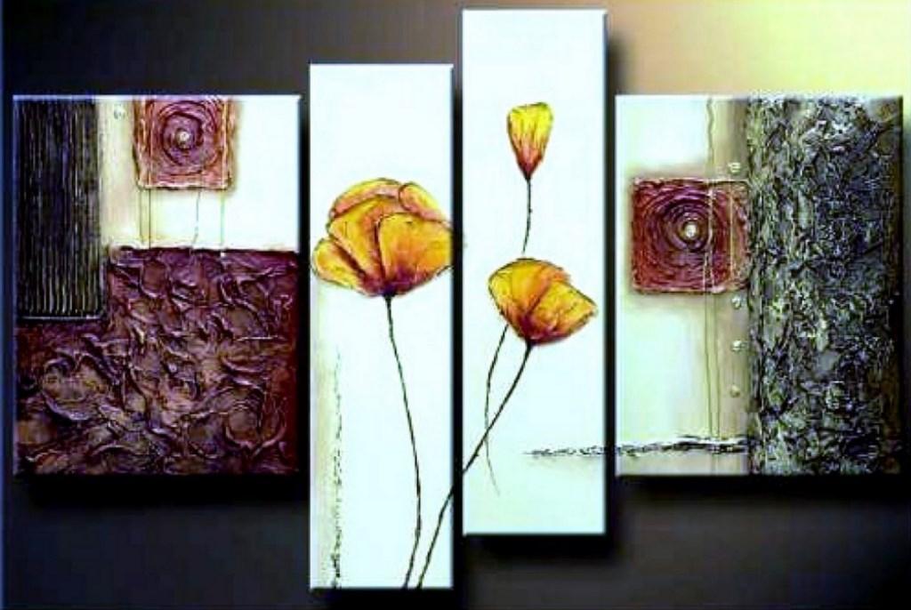 Cuadros modernos pinturas y dibujos dise os para pintar - Manualidades faciles cuadros ...
