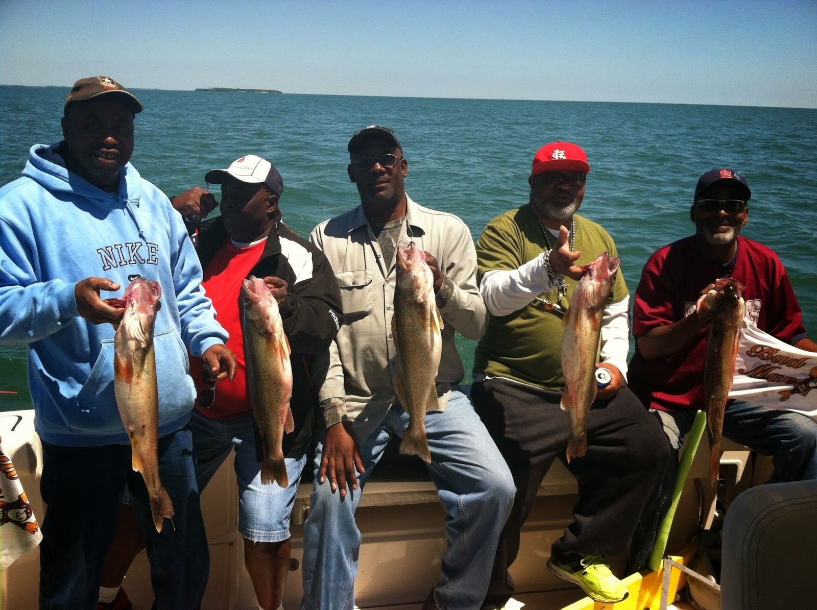 Lake erie walleye fishing reports west of middle island 6 14 for Lake erie walleye fishing report