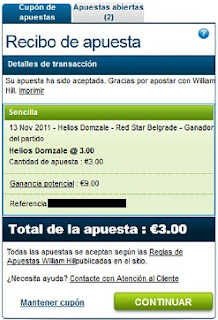 Baloncesto ABA League Helios Domzale-Red Star Belgrade William Hill