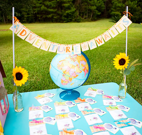 decoracao festa up altas aventuras:Up Themed Birthday Party