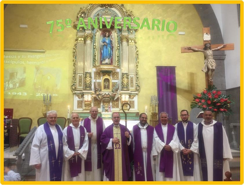 75º ANIVERSARIO SAN RAFAEL ARCÁNGEL