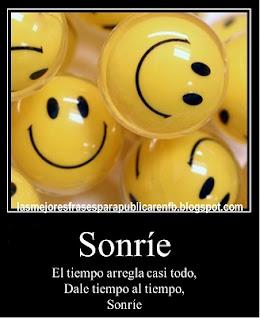 Frases Para La Vida: Sonríe El Tiempo Arregla Casi Todo