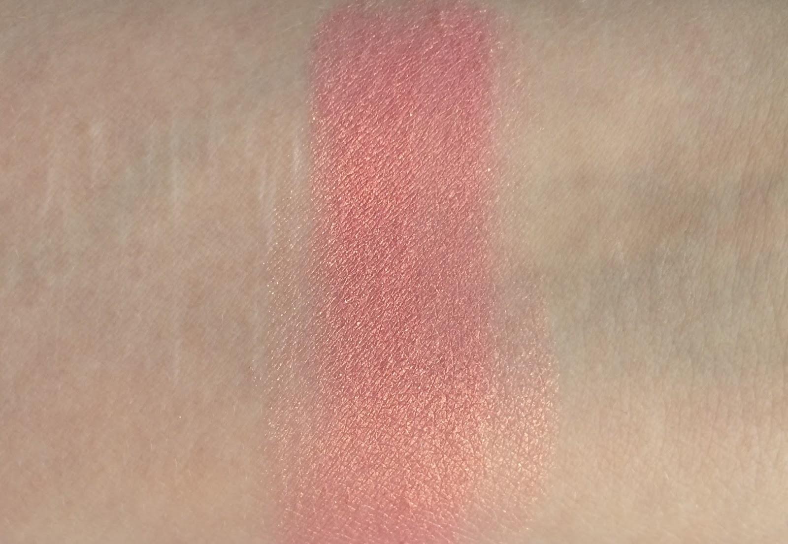 Sleek Blush Rose Gold Shimmer Pink Dupe Nars Orgasm Coral