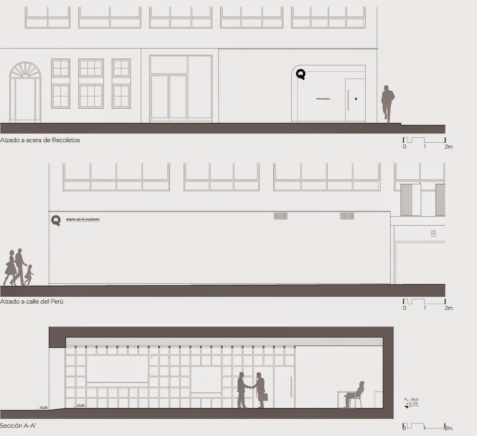 Arquitectos en valladolid latest oficina para la caja de - Arquitectos en valladolid ...