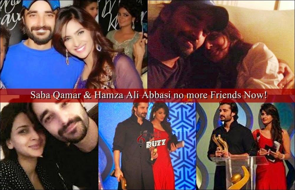 Fight Between Saba Qamar Hamza Ali Abbasi Know More