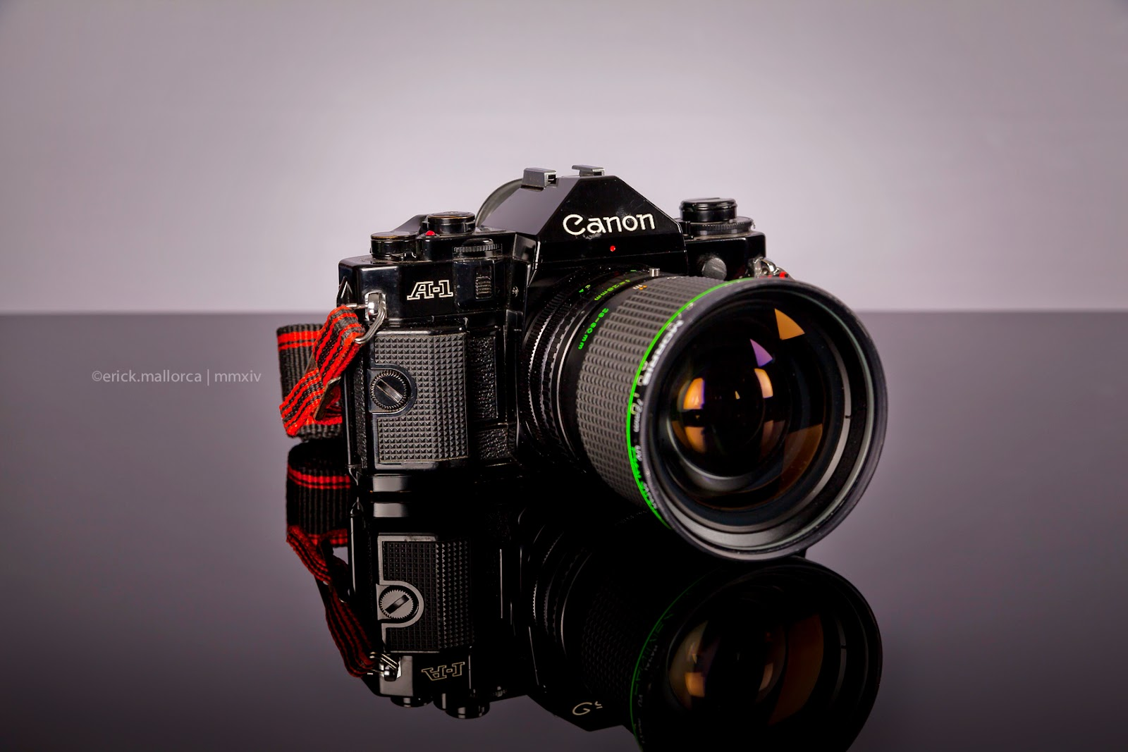 Canon A1 Erick Mallorca Photography