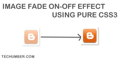 Cross Browser Image Fade on-off Effect Using Pure CSS3