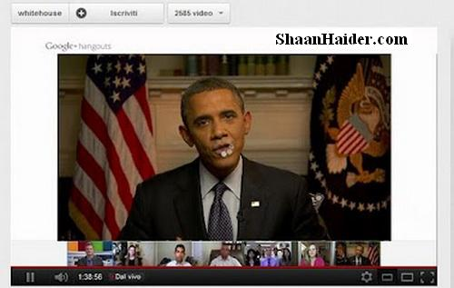 Watch the President Obama Google+ Hangout