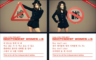 Miss A Min Fei Independent Women Pt III Teaser Pictures