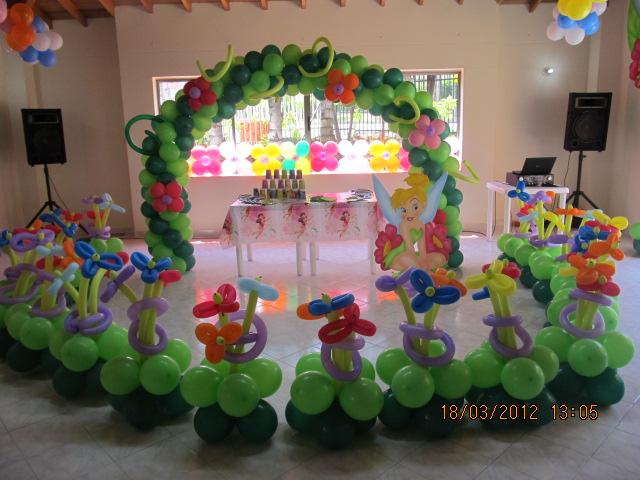 FIESTA TEMATICA CAMPANITA - TINKER BELL | Fiestas tematicas ...