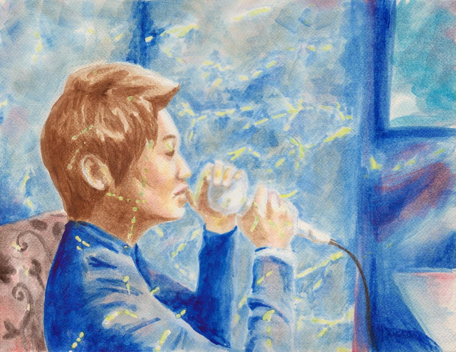Maaji Vivid Watercolor Pastel Short