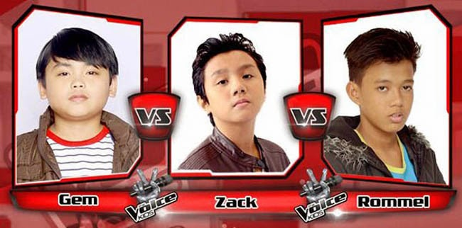 Gem Won Over Rommel and Zack on The Sing-offs for The Voice Kids Philippines
