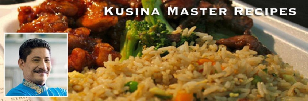 Kusina Master Recipes