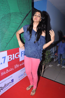Actress Sakhi Chowdary Pictures in Tight Jeans at Green Ganesh 0014.jpg