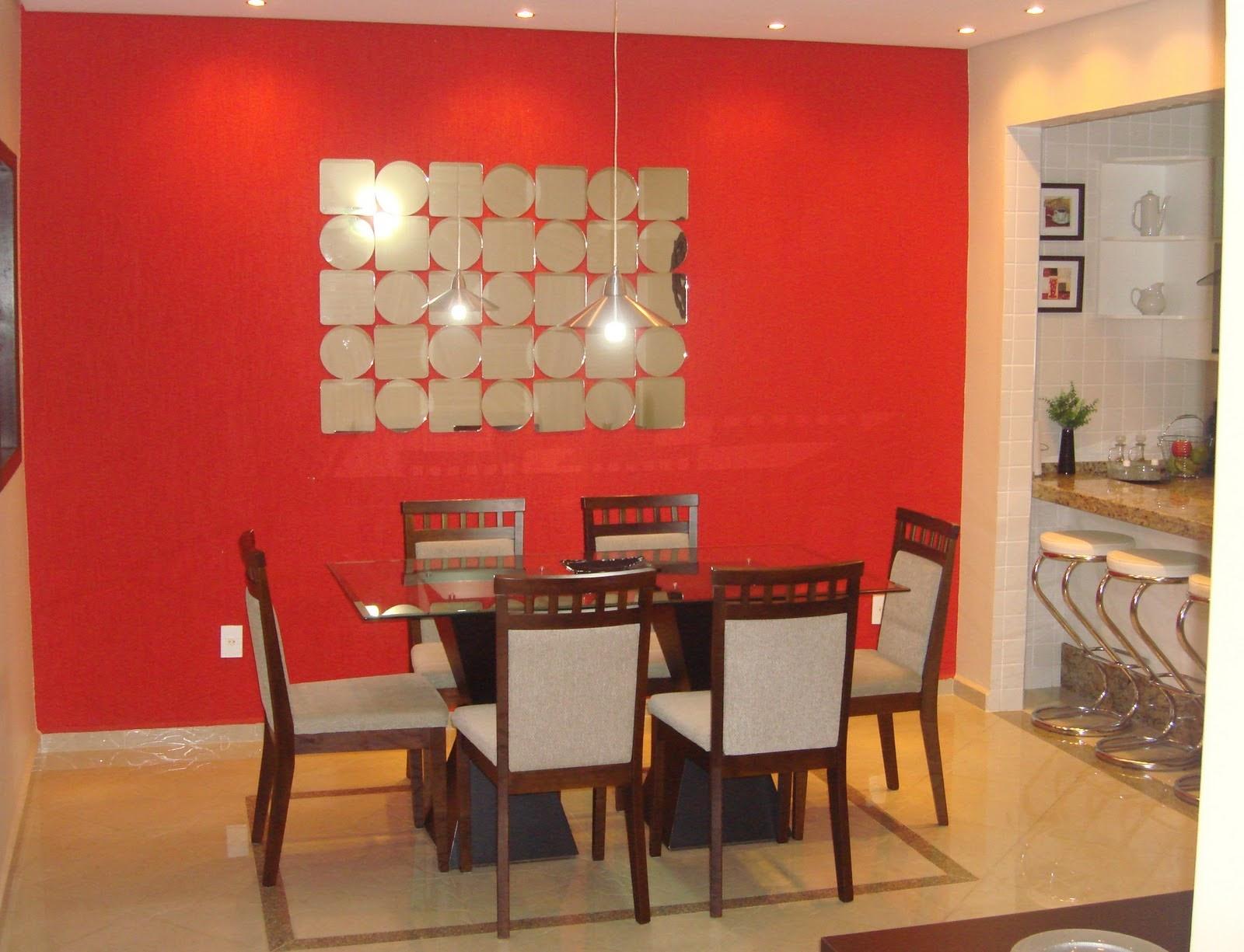 #AB2620 Paredes vermelhas! Jeito de Casa Blog de Decoração 1600x1225 píxeis em Decoração De Sala De Jantar Com Parede Cinza