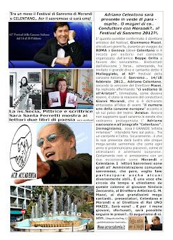Ciao Poetessa Ferretti, con Morandi e Celentano..