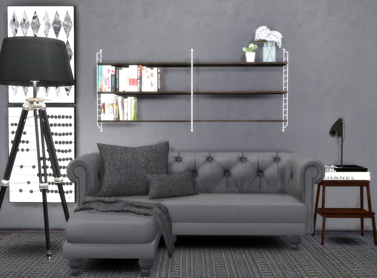 Sims 4 cc 39 s the best furniture by hvikis - Cheap hipster furniture ...