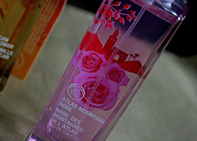 The body shop voyage collection Atlas Mountan Rose Fragrance