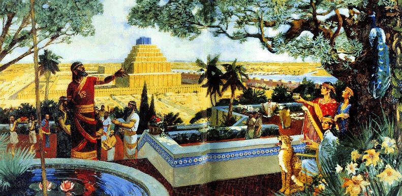 LOS JARDINES DE BABILONIA  Babylon+Map++Babylon+relief+(2-2)