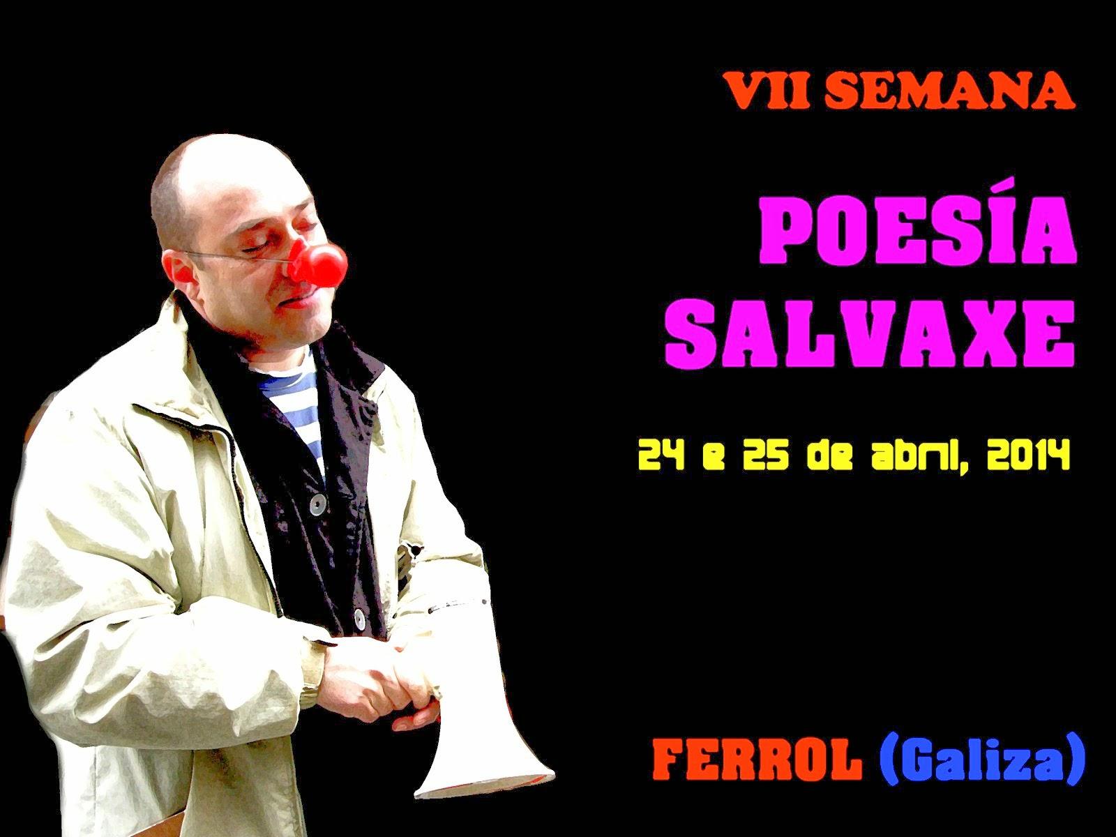 7ª SEMANA POESÍA SALVAXE