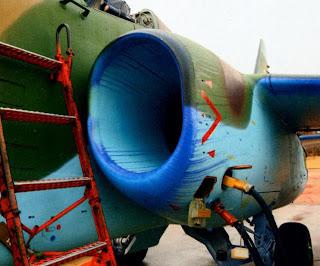 Воздухозаборник Су 25