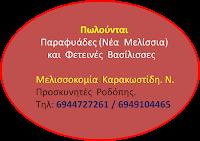 Πώληση   Παραφυάδων (Μελισσιών)